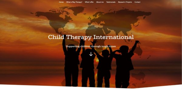 childtherapyinternational.com screenshot